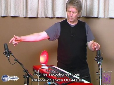 La prise de son des cuivres selon George Massenburg