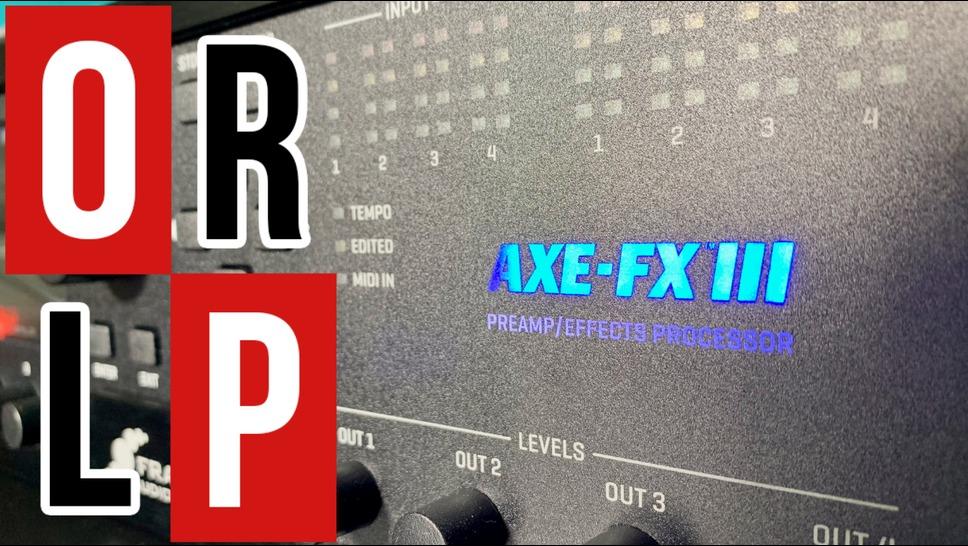 On teste l'AXE-FX III en live !