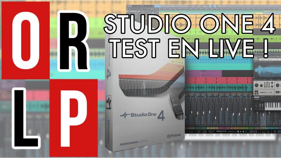 Studio One 4 en test live !
