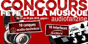 Gagnez des casques Audio-Technica et des interfaces audio Audient avec le Concours Fête de la musique !