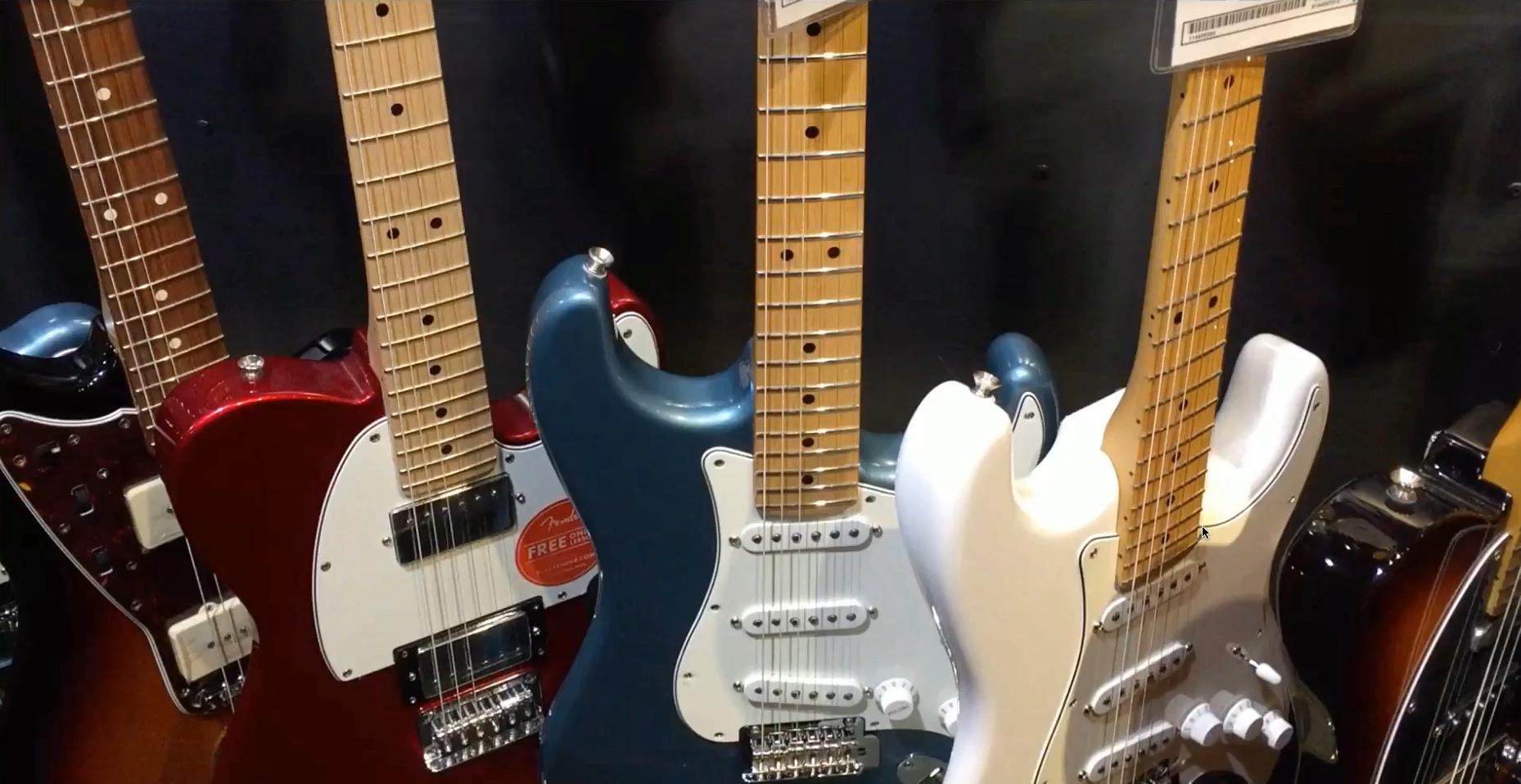 Fender abandonne les guitares Standard mexicaines