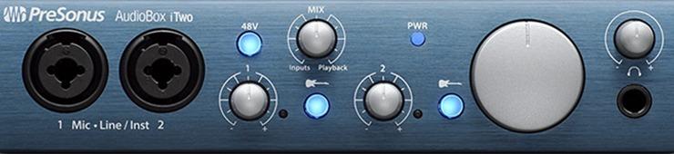 Recensione dell'AudioBox iTwo di PreSonus