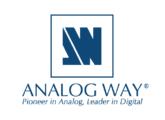 Vends Analog Way Octo Quattro OTR401