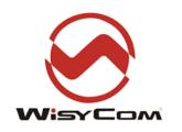 A vendre récepteur HF (470-840 MHz) double canaux WYSICOM MRK960COM