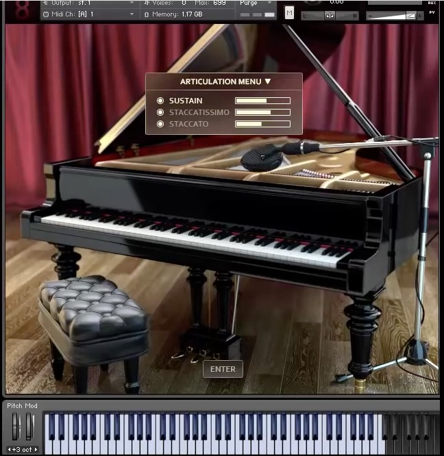 8dio teases its new 1990 studio grand piano a yamaha c7 sample library for kontakt audiofanzine. Black Bedroom Furniture Sets. Home Design Ideas