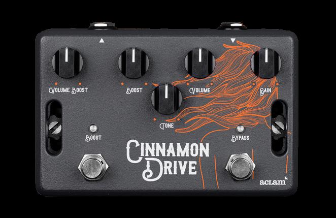 [NAMM] La Cinnamon Drive d'Aclam Guitars