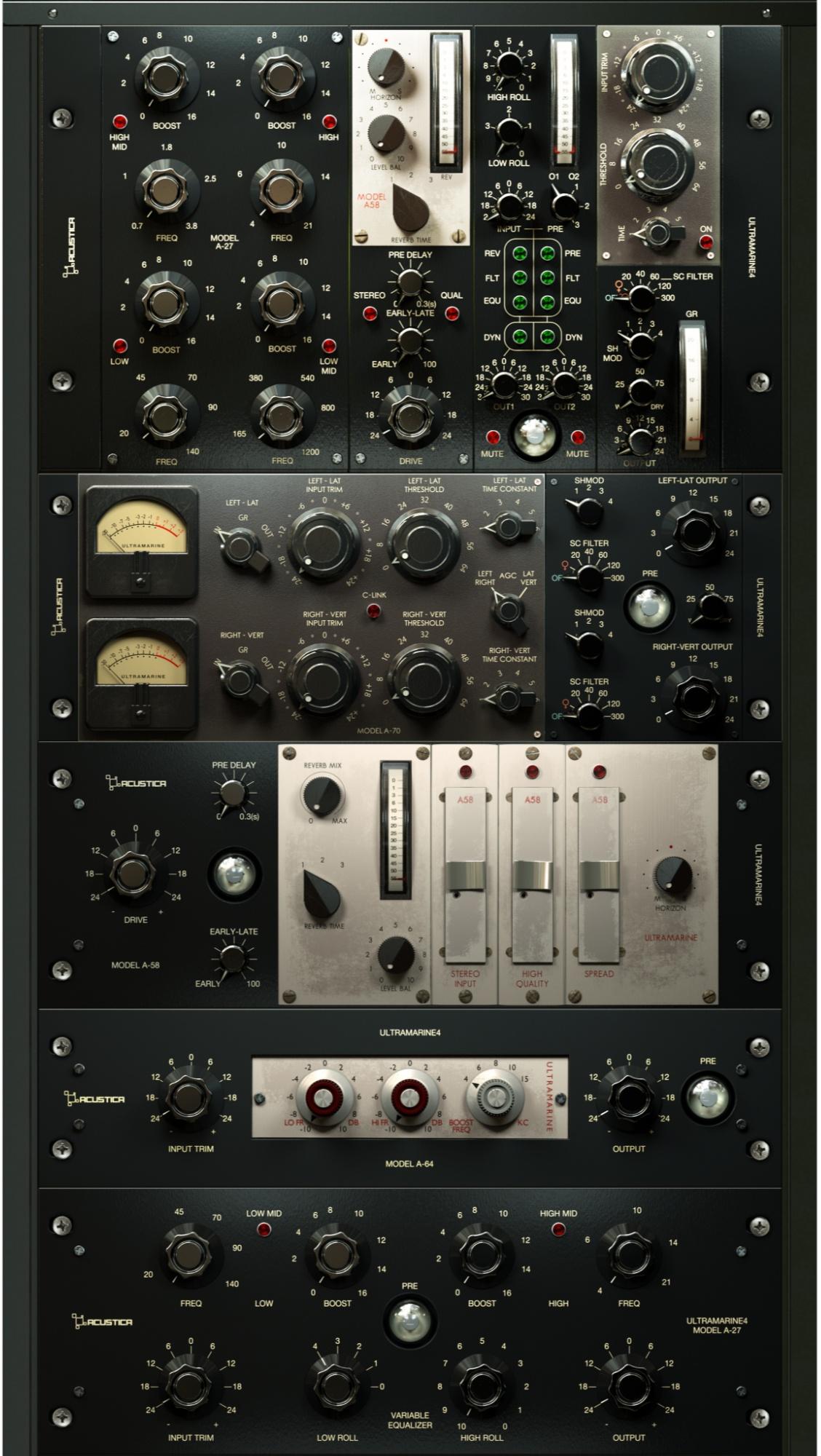 2 suites de plug-ins sont en promo chez Acustica Audio