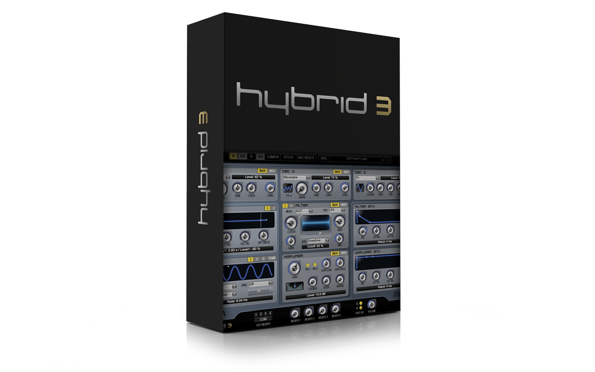 hybrid music Get hybrid 30 for only €099 for a limited time this synthesizer plugin (vst/au/aax) combines the coveted warmth of analog synths with a full range of futuristic digital manipulation capabilities resulting in a synth that can sound like a synth you remember or something no one has ever heard before.