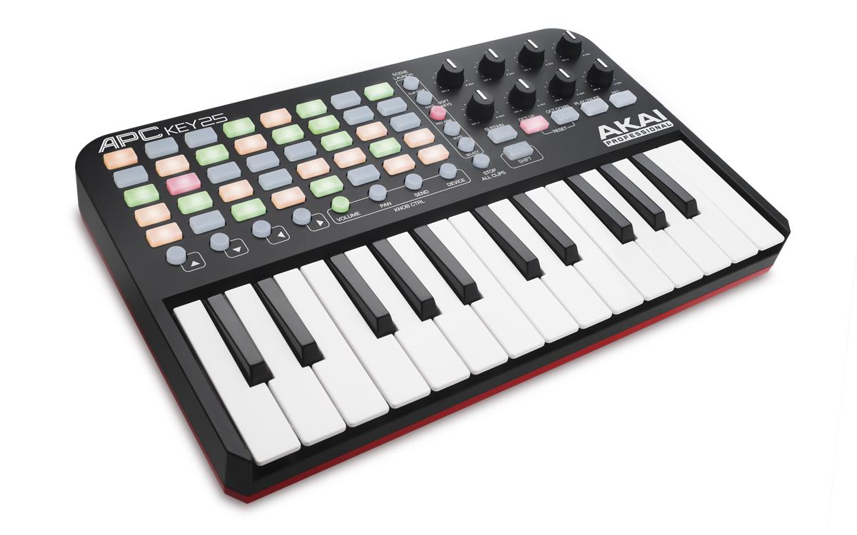 banc d 39 essai du clavier ma tre midi akai apc key 25 avec pads pour ableton live audiofanzine. Black Bedroom Furniture Sets. Home Design Ideas
