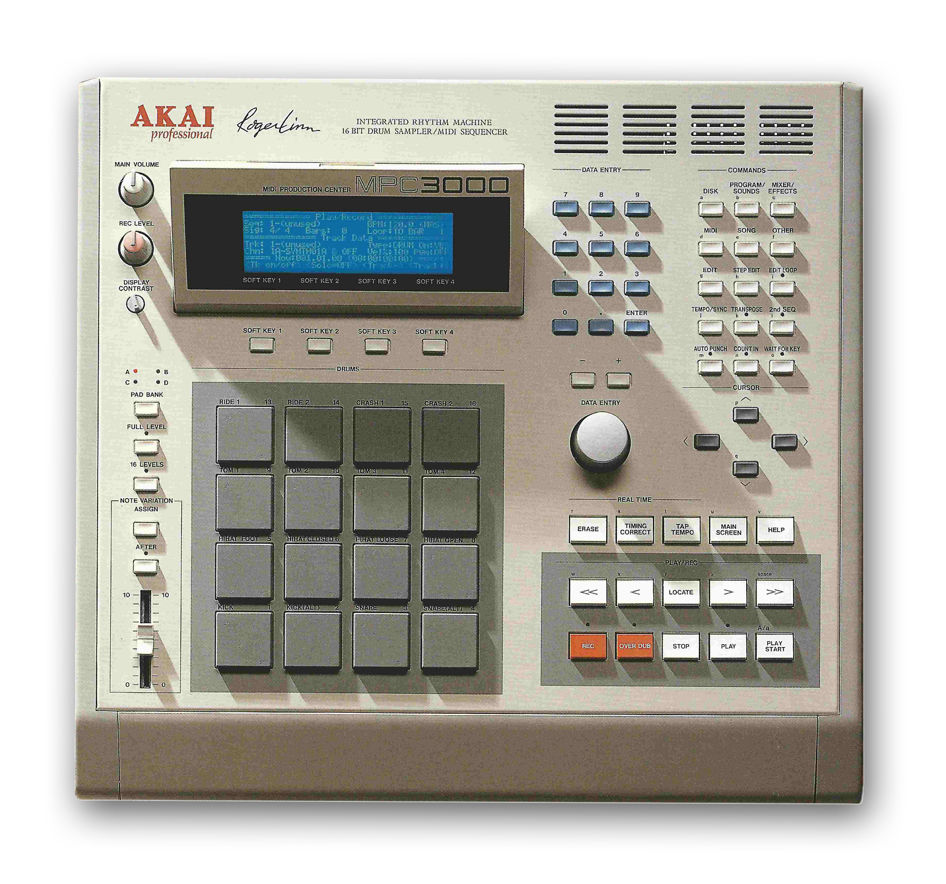 Akai MPC3000 | Vintage Synth Explorer