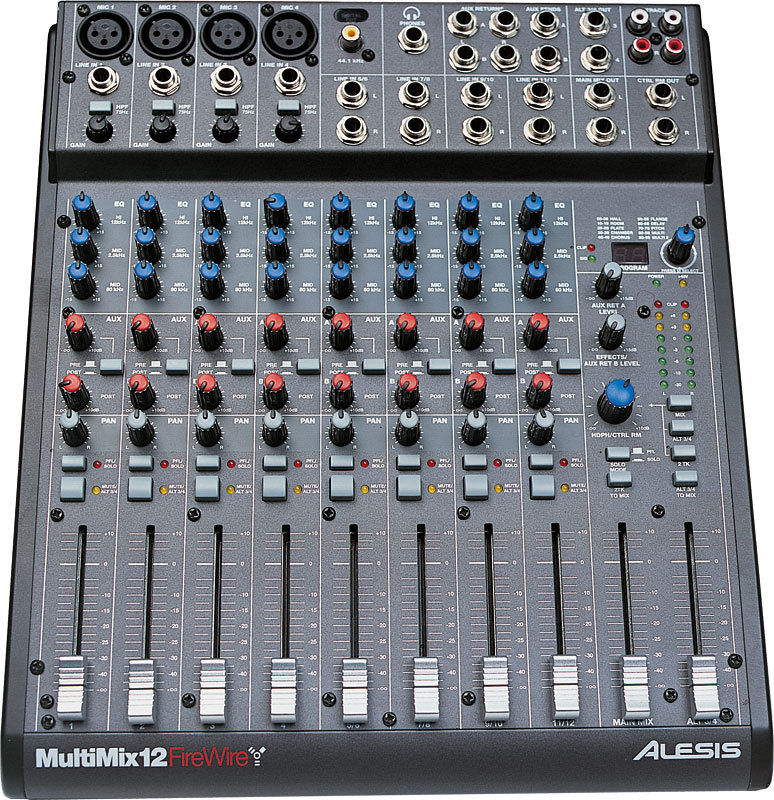 table de mixage firewire