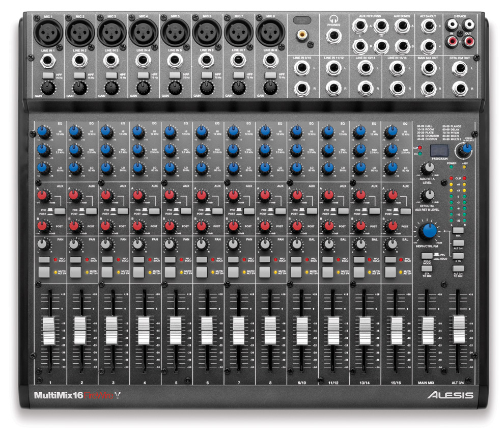 table de mixage firewire