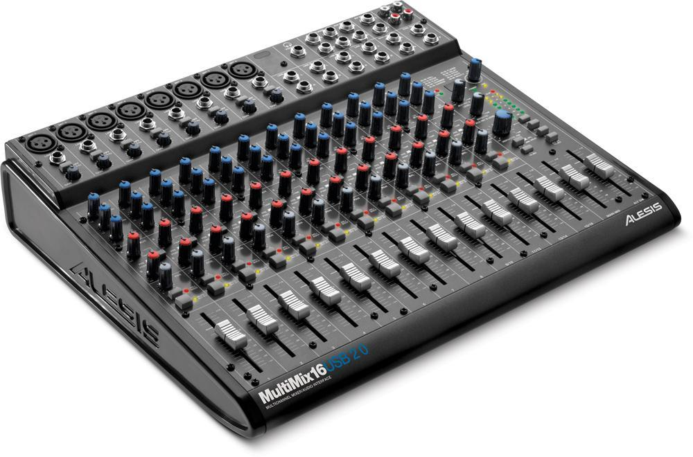 table de mixage usb multipiste