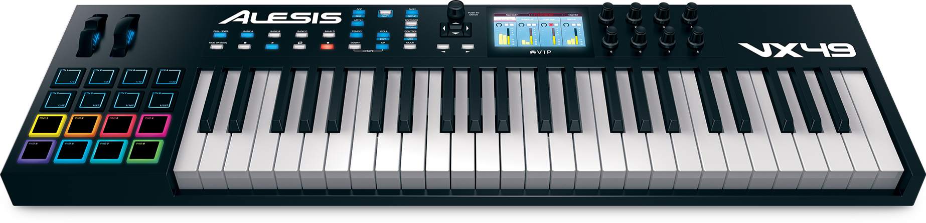 clavier ma tre midi usb alesis vx49 avec int gration de plug ins et de stan audiofanzine. Black Bedroom Furniture Sets. Home Design Ideas