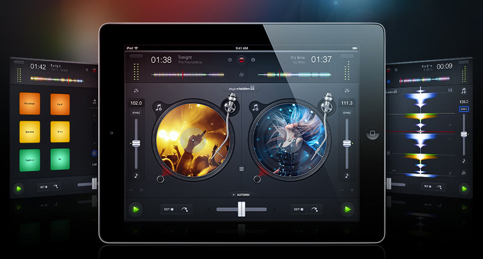 l 39 application de mixage pour dj algoriddim djay 2 sur android audiofanzine. Black Bedroom Furniture Sets. Home Design Ideas