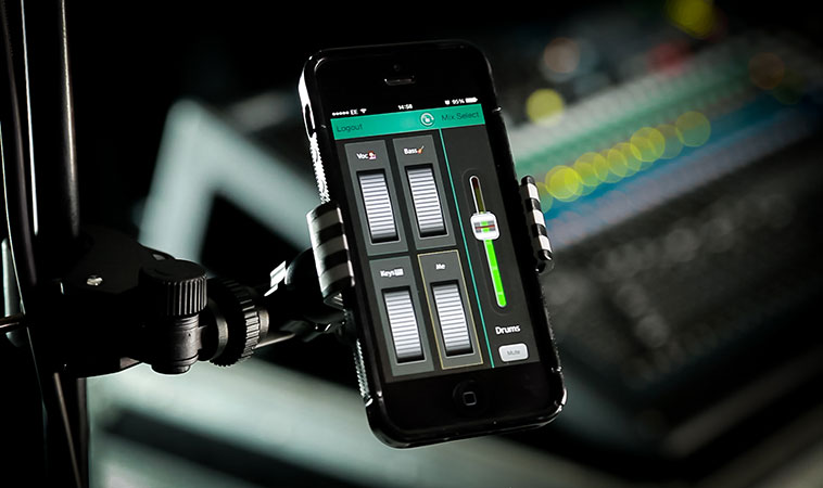 Allen & Heath Qu-You personal monitoring app for the Qu digital