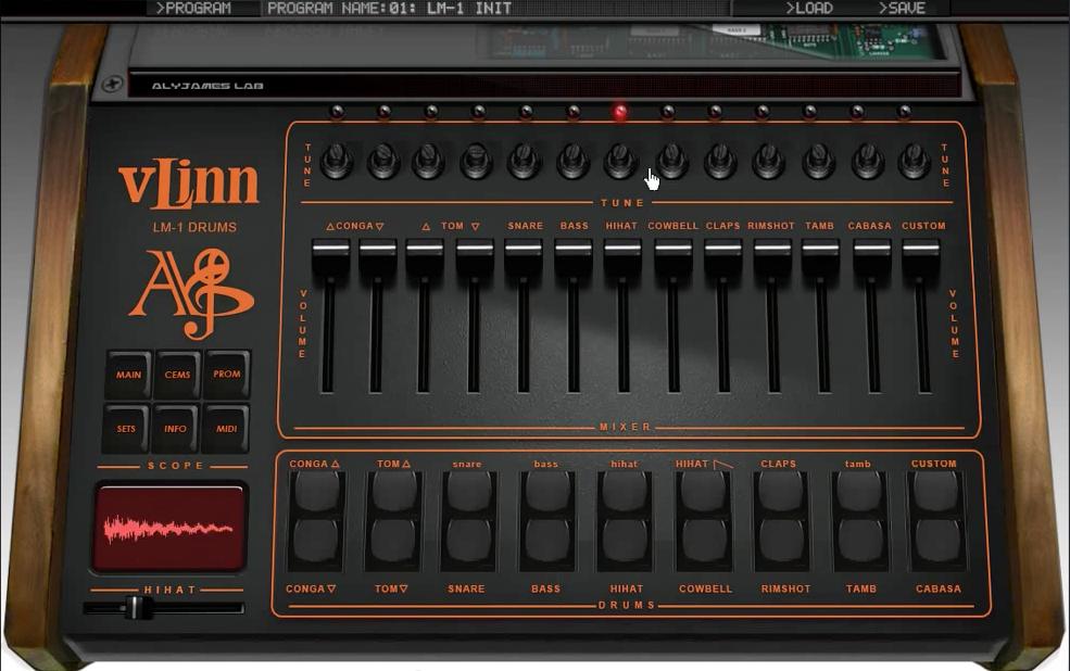 Lm 1 Drum Machine Vst : aly james lab vlinn lm1 drums 2 video vlinn 2 0 linn lm 1 vst now cross platform banshee in ~ Hamham.info Haus und Dekorationen