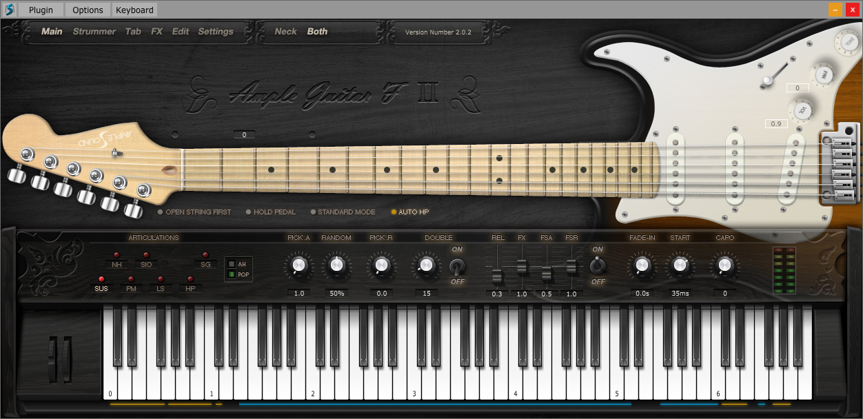 ample guitar f ii ample sound ample guitar f ii audiofanzine. Black Bedroom Furniture Sets. Home Design Ideas