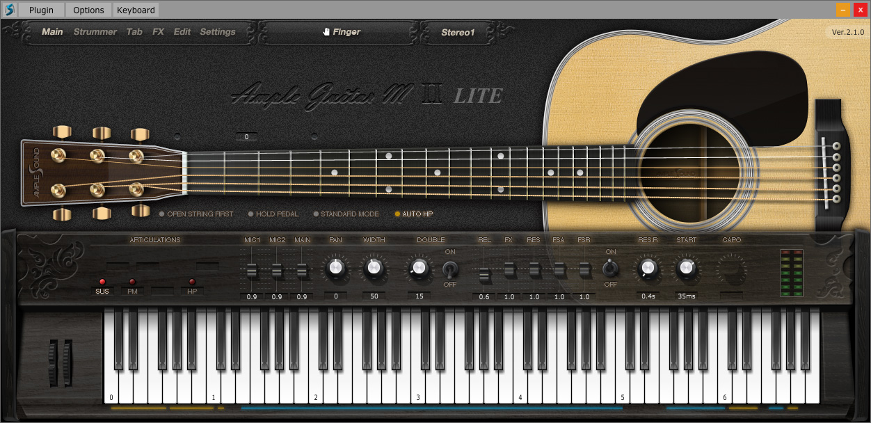 guitare acoustique vst