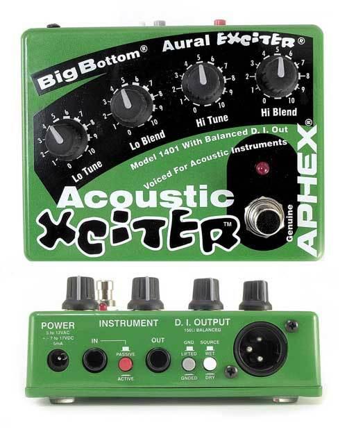 Aphex Acoustic Xciter – Chris's Guitars