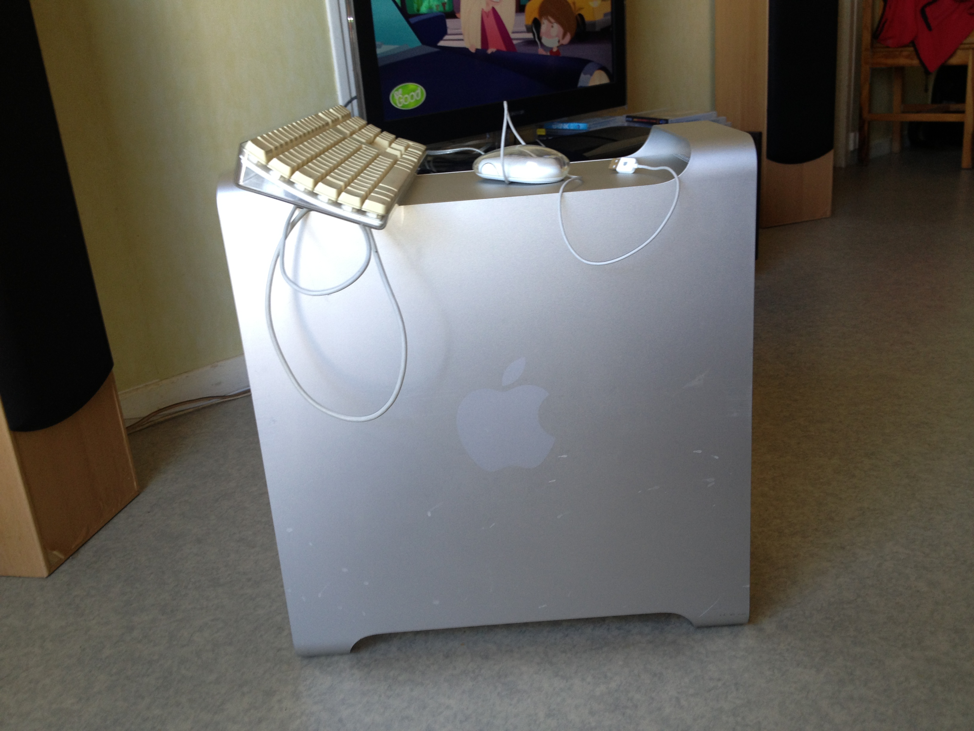 Pictures and images Apple PC POWER MAC G5 10 5 8 2GO RAM - Audiofanzine