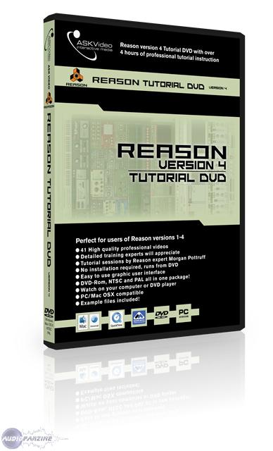 Amazon. Com: reason version 4 tutorial dvd ask-video: movies & tv.