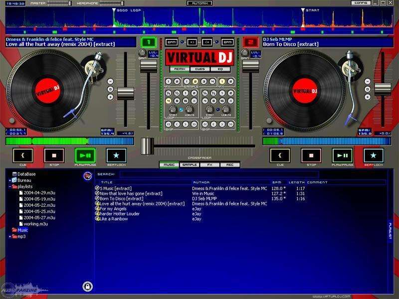 Virtual DJ 2 x