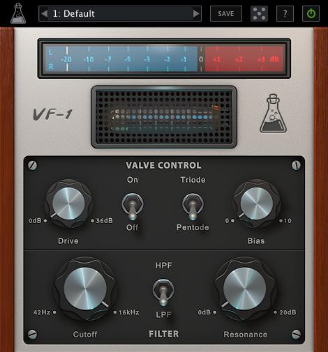 Le Valve Filter d'AudioThing en promo