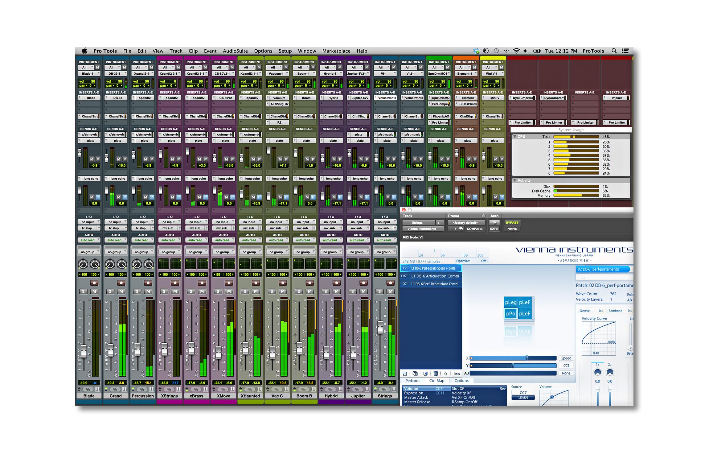 Pro Tools 12 full En Español facil de instalarRequerimientosWindows: PC Intel con Windows 7 de 64 bits (Home Premium,  Professional y- 1. Instalar -Pro_Tools_10_3_10_Mac_84129.dmg 2. Instalar -Avid Instrumentos Virtuales 10.3.dmg Disfruta! si se caen los links favor de comentar para...