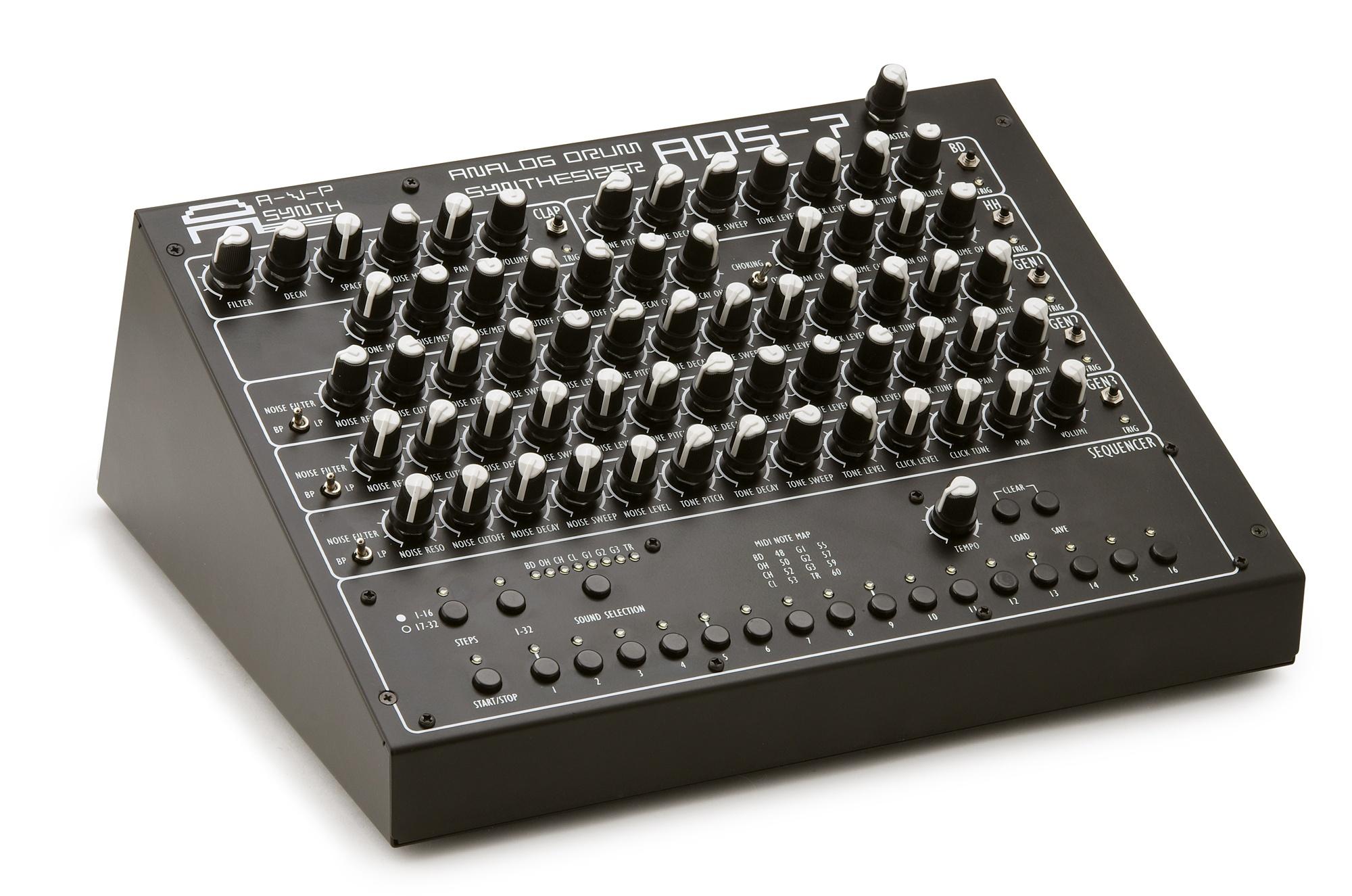 AVP Synthesizer lance l'ADS-7