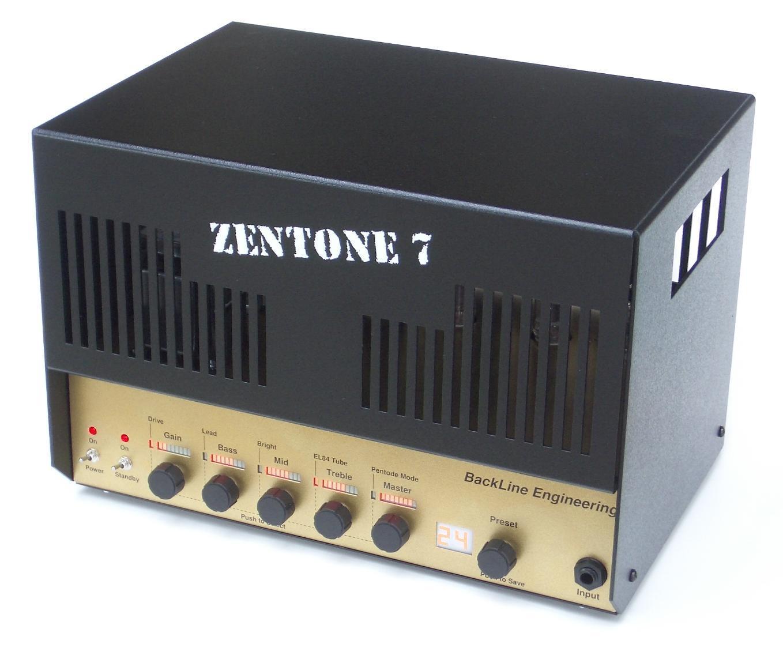 zentone 7 backline engineering zentone 7 audiofanzine. Black Bedroom Furniture Sets. Home Design Ideas
