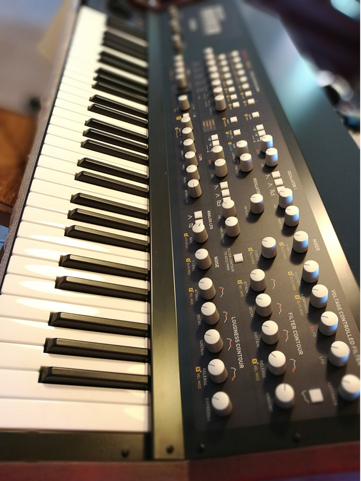 HOME STUDIO - Review of the Baloran The River analog synthesizer 1