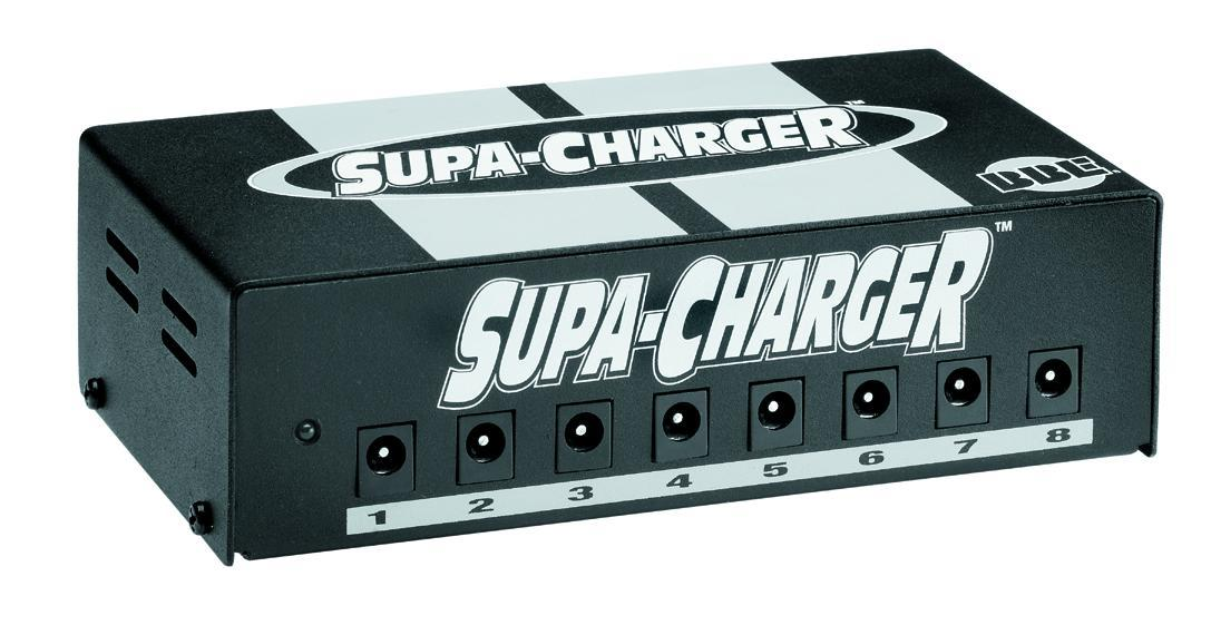 NEW BBE Supa Charger Supacharger Pedal Power Supply