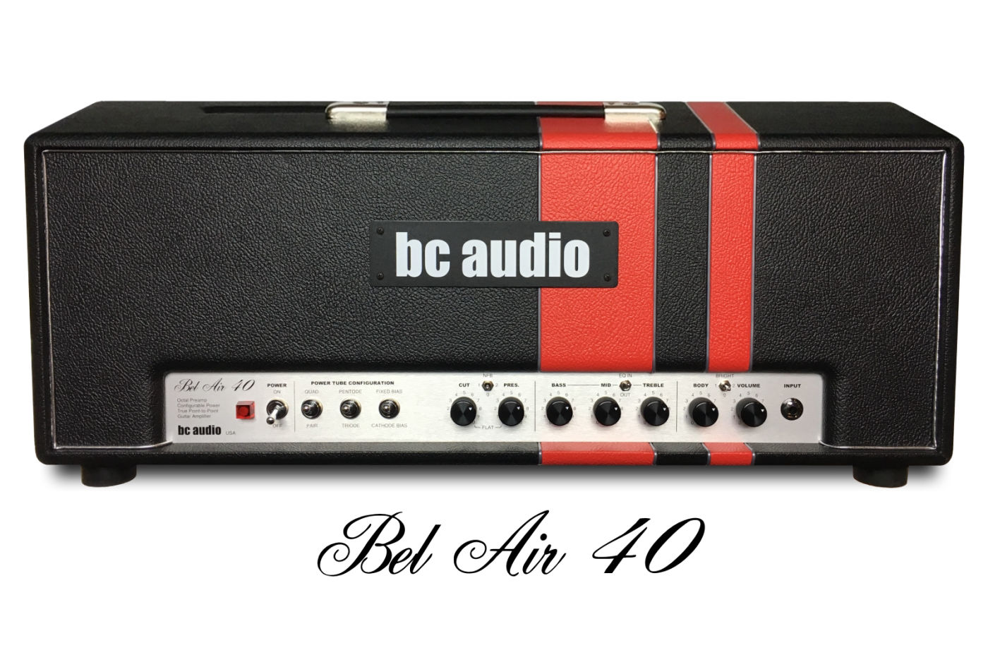 BC Audio Bel Air 40 : l'ampli à lampe configurable