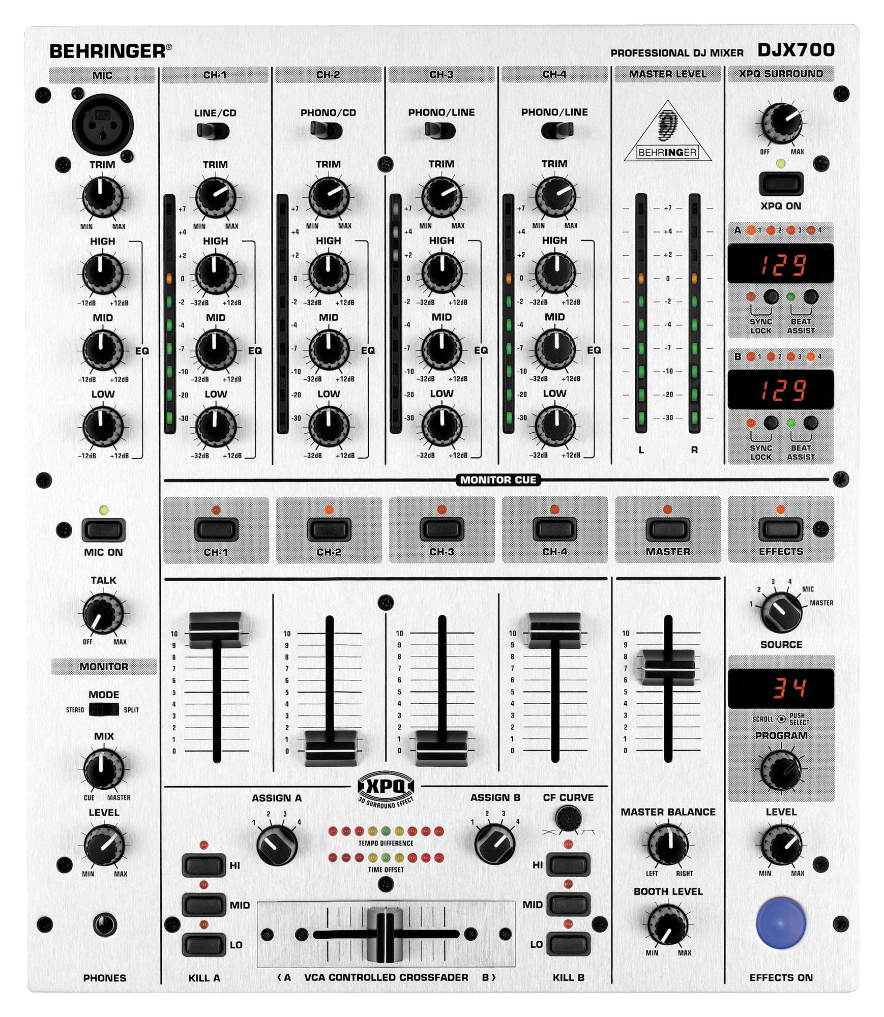 table de mixage 700