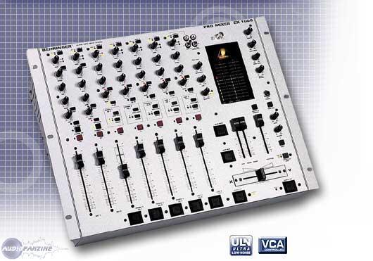 table de mixage 7 voies behringer dx1000