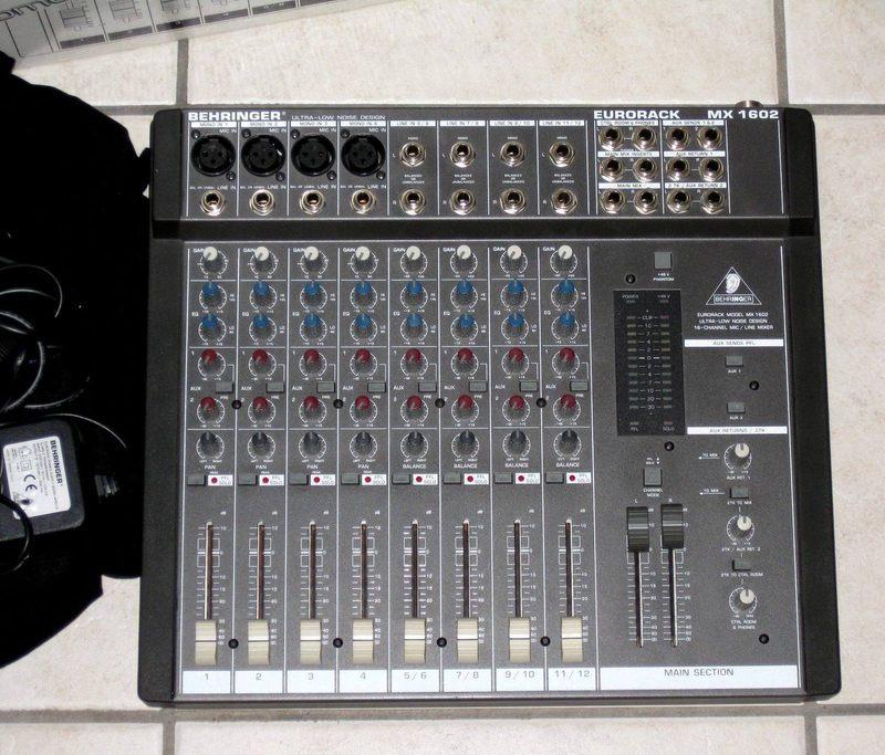 User Reviews Behringer Eurorack Mx1602 Audiofanzine