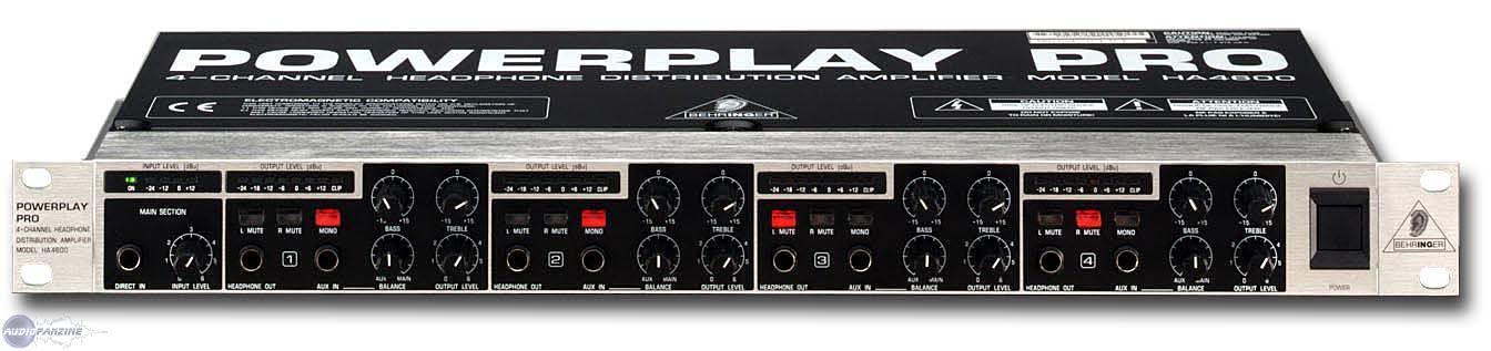 powerplay pro ha4600 behringer powerplay pro ha4600 audiofanzine