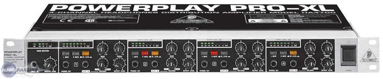 powerplay pro xl ha4700 behringer powerplay pro xl ha4700 rh en audiofanzine com Behringer BX600 Behringer BX600