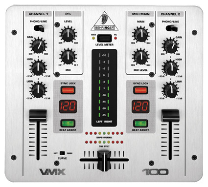 table de mixage behringer vmx100
