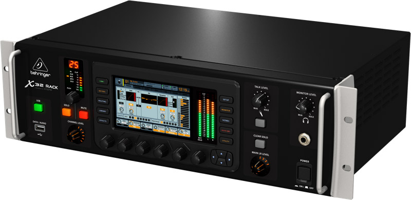 X32 rack behringer x32 rack audiofanzine - Console numerique behringer ...