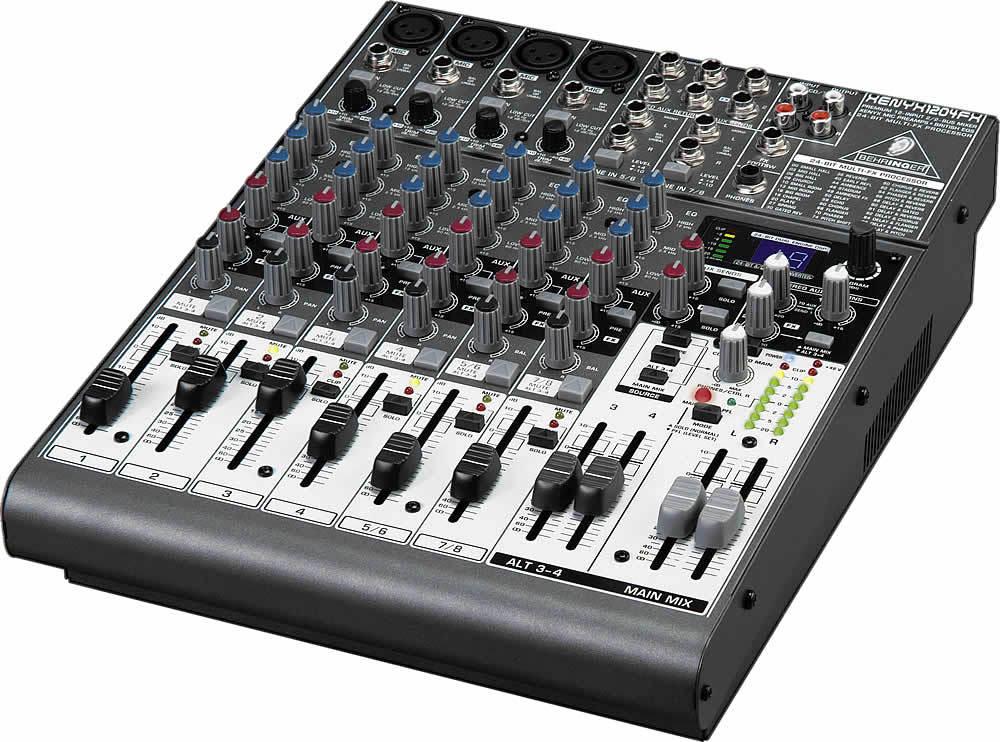 User Reviews Behringer Xenyx 1204fx Audiofanzine