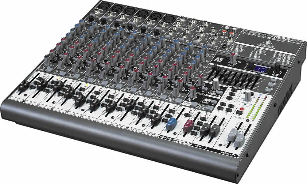 Avis d 39 utilisateurs behringer xenyx 1832fx audiofanzine for Table de mixage xpress 6 keywood