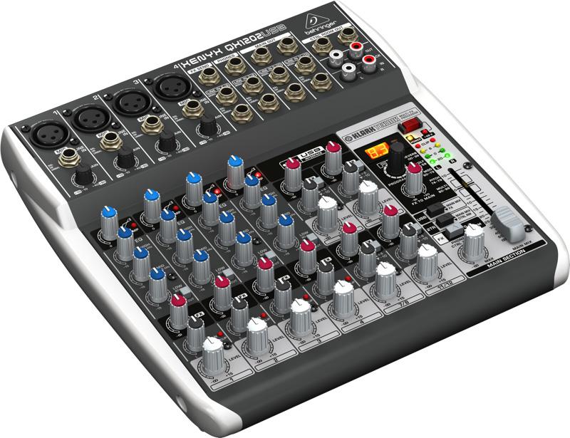 table de mixage behringer qx1202usb