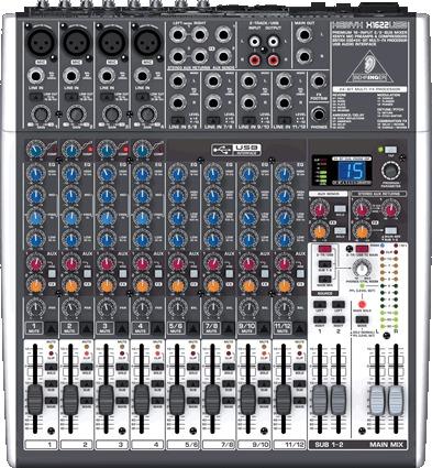table de mixage xenyx x1622usb