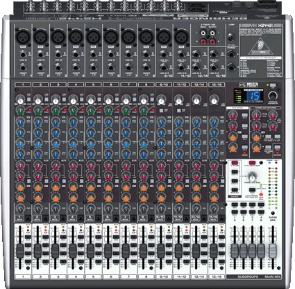 table de mixage behringer x2442usb
