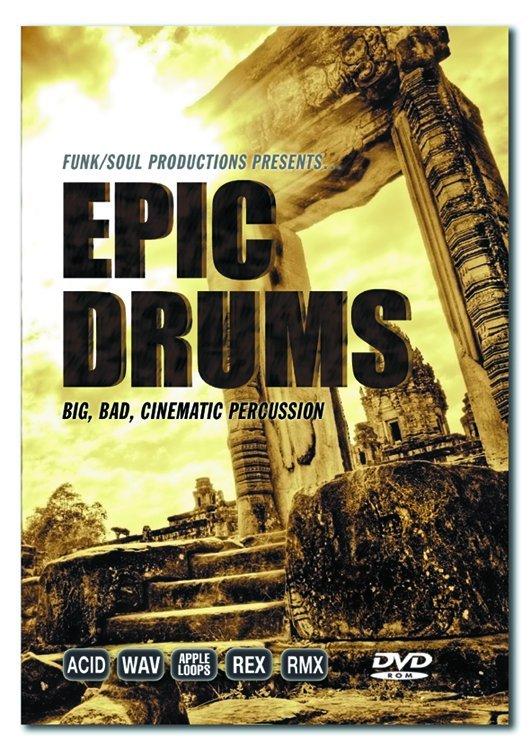 Big fish audio releases epic drum news audiofanzine for Big fish musical script