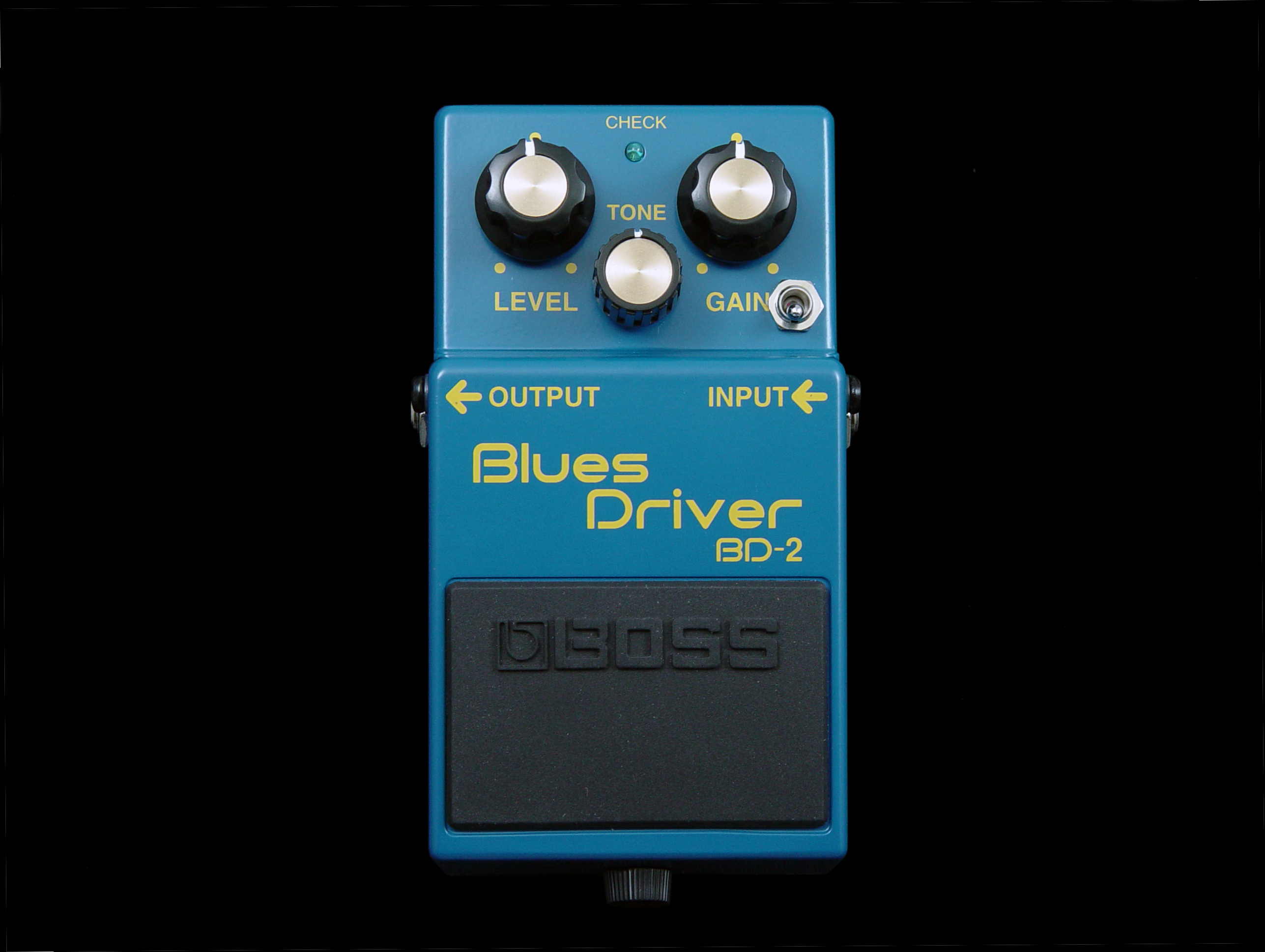Boss b-d2 blues driver pedal review.