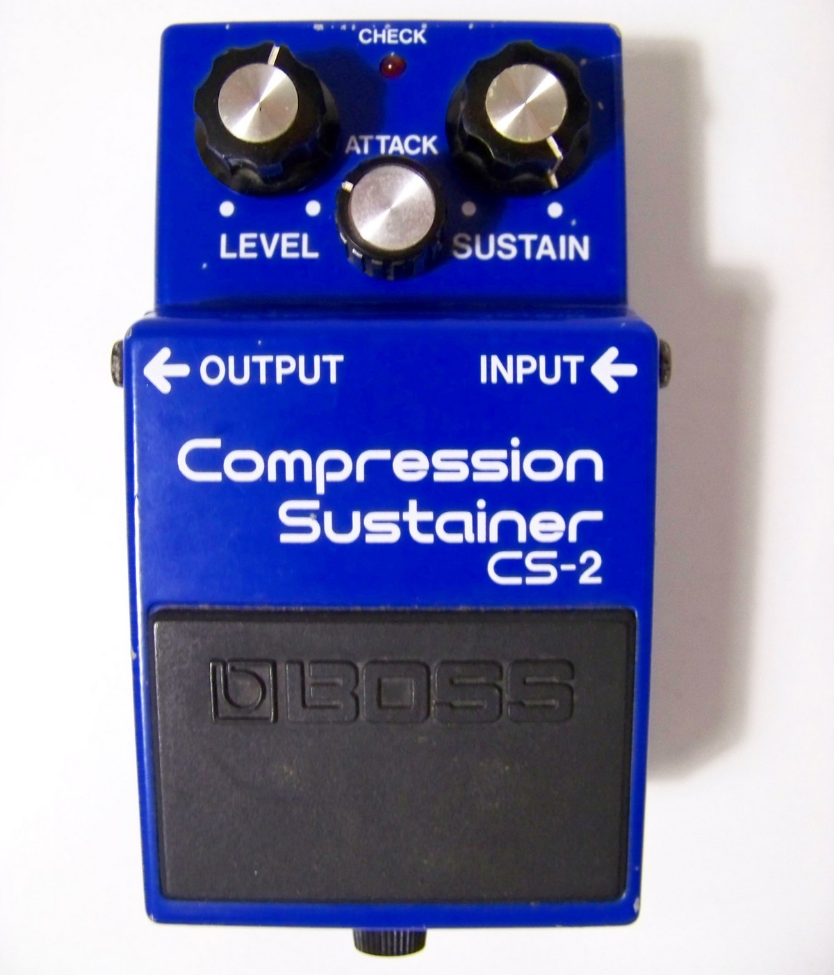 User reviews: Boss CS-2 Compression Sustainer - Audiofanzine