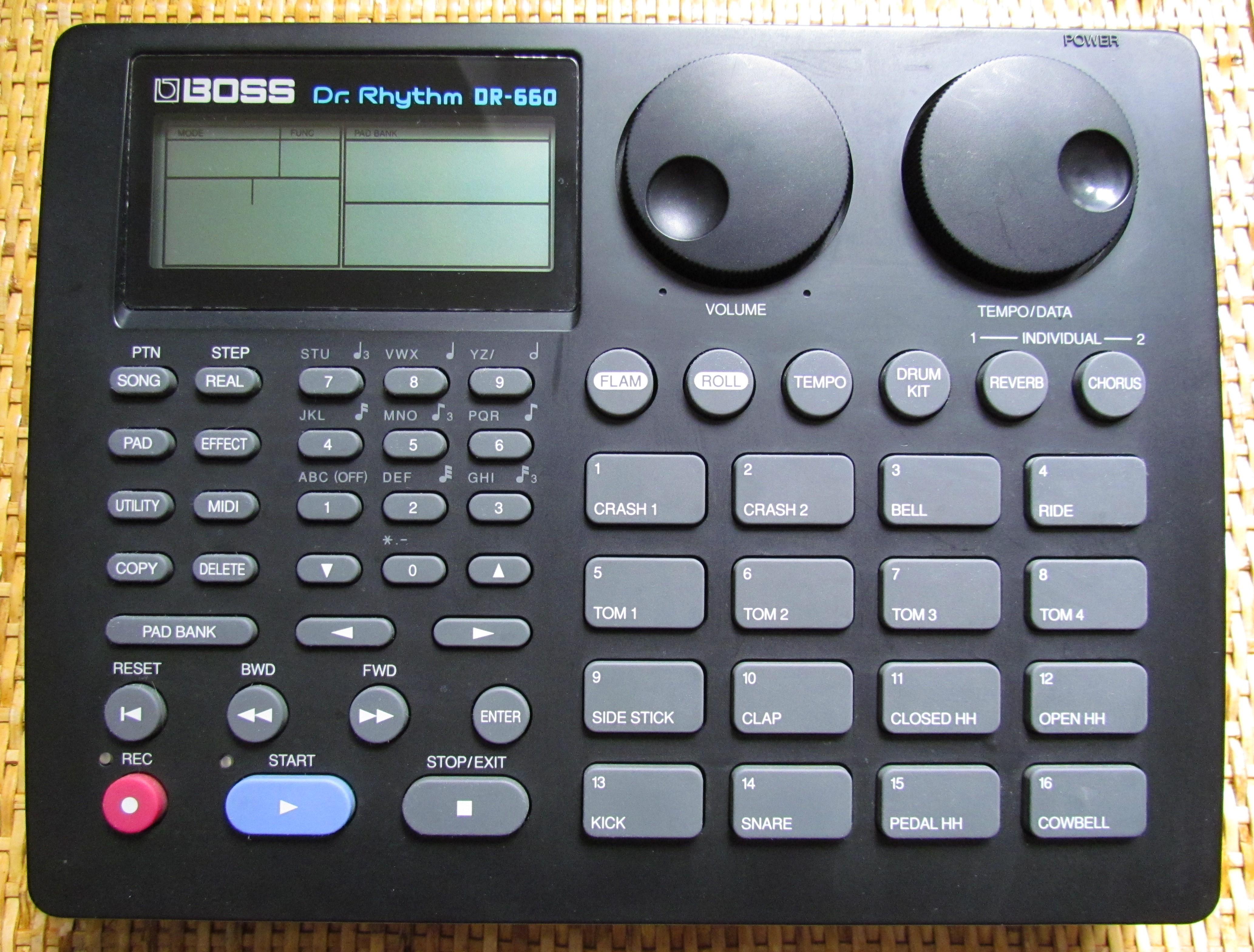 dr 660 drum machine